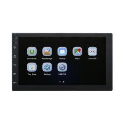 2 audio dell'automobile del Android 8.1 di BACCANO 7.0 lettori DVD dello schermo di tocco di pollice con il giocatore dell'automobile MP5 di GPS WiFi Bluetooth