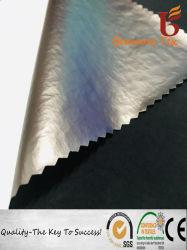 Tissu de nylon Ride with breathable PU composé de film pour le coton Veste Wadded