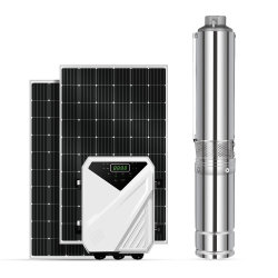 Solare Sunpal DC 110 Volt 1HP 2HP 180m testa brushless Pompa per acqua sommersa centrifuga Deep Well con accessori gratuiti