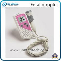 L'équipement médical portable ordinateur de poche poche Accueil Preganancy du Rythme Cardiaque Foetal Doppler de moniteur