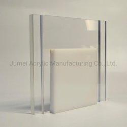 Jumei 1220*2440mm feuille acrylique 100% de plexiglas vierge pure panneau en acrylique
