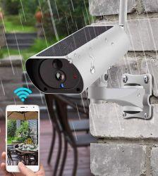 L'énergie solaire 4G SIM carte de caméra de vidéosurveillance IP sans fil IR