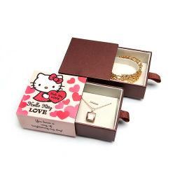 Vakje van de Gift van de Vertoning van de Juwelen van het Document van de douane het Verpakkende