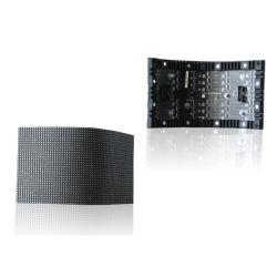 P2/P3/P4/P5/P6 Rideau LED écran LED programmable Location Courbe pleine couleur LED flexible de modules d'affichage