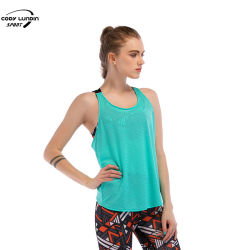 كودي لوندين حجم خاص ملصق اللياقة البدنية مخصص التمرين ملابس كرة القدم التدريب السراويل الرياضية القميص بدون أكمام سيدات أنشطة اليوغا النشاطة القميص القميص الرياضي قميص للنساء