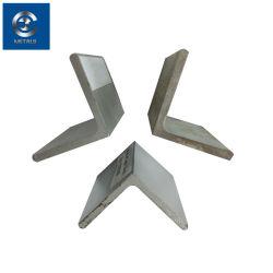 Acciaio ad angolo laminato a caldo MS, misure angolari in acciaio, ferro ad angolo in acciaio inox