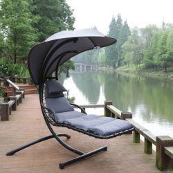 Outdoor Dream Hammock Swing Chaise ligstoel met Canopy en Stalen standaard
