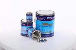 페인트, 기름, 접착제, 코팅 또는 화학제품을%s 작은 둥근 양철 깡통 금속 콘테이너