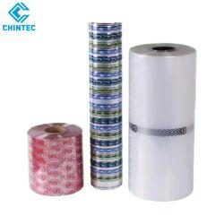 Direto da fábrica poliolefina impresso Filme Encapamento embalagem, o rótulo personalizado e mangas Material retrátil