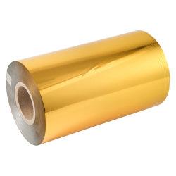 12 de Glanzende Gouden Zilveren Flexographic Koude Folie van het micron voor Grafisch Document