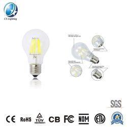 Une gradation60 6W filament E27/B22 Lampe LED avec ce RoHS 170-240V