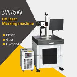 machine de marquage au laser 3W UV pour la résine de pièces pour véhicules automobiles