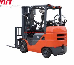 5000 Lbs 2.5 Ton EPA-motorbenzine en propaan LPG-stoelkussen benzinemotor LPG-heftrucks