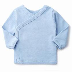 Abitudine T delle magliette del bambino da 18-24 mesi con la maglietta piena del manicotto del neonato a schiocco