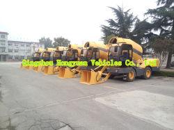 Mixer van het Merk van Hongyuan Self-Loading Concrete met 4m3, 95kw Motor