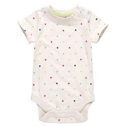 Nieuwste 100% biologische katoenen geprinte kleding voor baby's