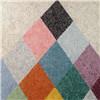 Nuevo Interior Decoration-Rainbow revestimiento artístico Papel tapiz de líquido de fibra de algodón natural
