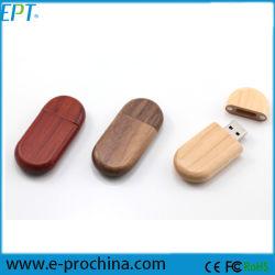 Soemhölzernes USB-Blitz-Laufwerk, aufbereiteter Holz 1GB-32GB USB
