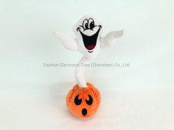 Zucca di canto di Halloween del fantasma del giocattolo di natale