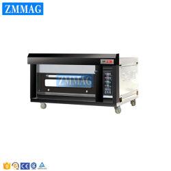 Tellersegment-elektrische Handelspizza des Bäckerei-Geräten-Ofen-1 der Plattform-2 (ZMC-102D)