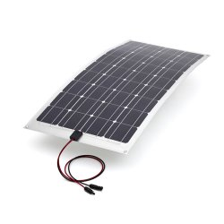 modulo solare flessibile del comitato solare 100W per la casa di motore rv, marino