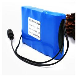Het Li-ionen Pak 11.1V 18650 van de Batterij 32650 26650 26500 21700 16500 14500 Pak van de Batterij van het Lithium Ionen