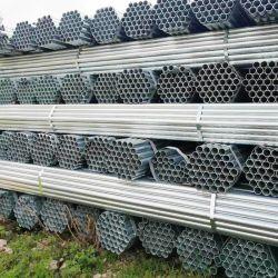 Norma ASTM A QUENTE de Baixo Carbono Aço Galvanizado Tubo Tubo soldado