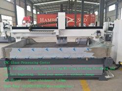 Glasprozeßmaschinen-Glasmaschine CNC-Zxx-C2518 für Glas sinkt Spitzenwerkzeugmaschinen, einkerbende und prägende die Glasbohrung
