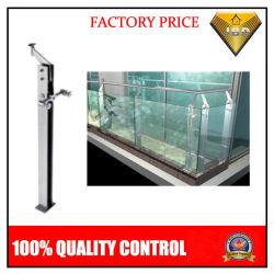 Corrimão de vidro em aço inoxidável Pilar para escada ou varanda (JBD-B029)