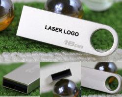 Unidade Flash USB Mini de metal com design chaveiro