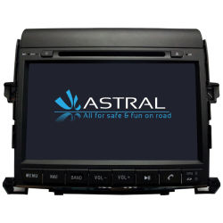 Auto DVD in Car Video Stereo voor Toyota Alphare