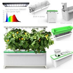 Jardim Interior Premium de alta qualidade a Plantadeira Hydrponics impermeável IP67 Sistema Integrado Big 7L Smart Hidroponia Garden Plantadeira com luz de crescer de LED