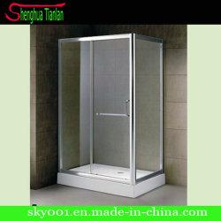 Faible Rectangle bac à douche en verre trempé simple (Tl-544)