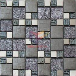 Cristal de folha de ouro com 304 Mosaico Mosaico de Aço Inoxidável (CFM926)