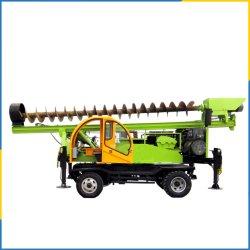 Rodas do Trator para Perfuração 360-6 Engenharia Geológica ferramenta com recursos avançados de sistema hidráulico da máquina