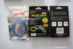 Banden van de Armband van het Silicone van de mug de Afstotende (P5102)