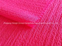 Композитный нити накаливания Crinkled креп шифон ткань для одежды для дам
