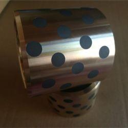 Jdb Graphite Roulement de manchon de Bronze, Bronze bagues, roulements, Oilless coulissant en bronze fritté, Self-Lubricating roulement de palier à bride