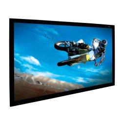Custom неподвижной рамкой экрана проектора с гибкими возможностями HD белого или серого цвета ткани