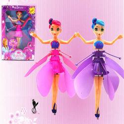 La magia de baile Flying Fairy Doll con luz y música.
