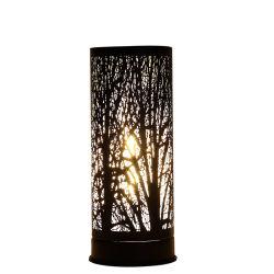 Aroma de madera de la luz de LED Lámpara de mesa de luz de Aroma de calefacción
