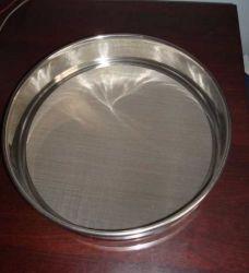 50 63 Mícron peneira de ensaio de aço inoxidável
