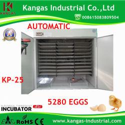 Автоматическая солнечной энергии, утвержденном CE куриное яйцо инкубатора для 5000 яиц