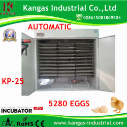 Ce approuvé d'oeufs de poulet automatique solaire incubateur pour les oeufs de 5000