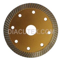 115mm super dünner Turbo harter der Keramikziegel-Ausschnitt-Diamant Sägeblatt-Ausschnitt-Platte