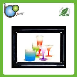 Pantalla ultra delgada caja de luz utilizado como la publicidad de productos (YB-CDX-A1).