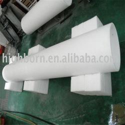 Großer Durchmesser-milchiges weißes fixierter Quarz-Gefäß