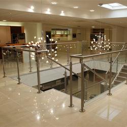 Ausgeglichenes Glas-Balustrade-Terrasse-Geländer-Entwurf