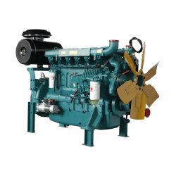 熱い販売400-440kw水冷却1500r 6シリンダー発電機エンジンの/Electricの発電かディーゼル機関50/60度のラジエーターエンジン