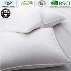 Bequemes Standardhotel-weiße Gans 100% der Jacquardwebstuhl-Baumwolle300tc unten Pillow,/Kissen